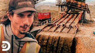 Parker repara una exclusa con herramientas de su vehículo | Fiebre del Oro | Discovery Latinoamérica
