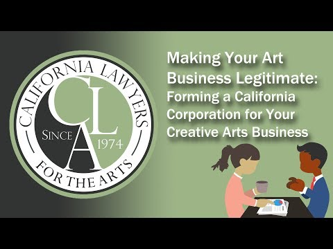Making Your Art Business Legitimate