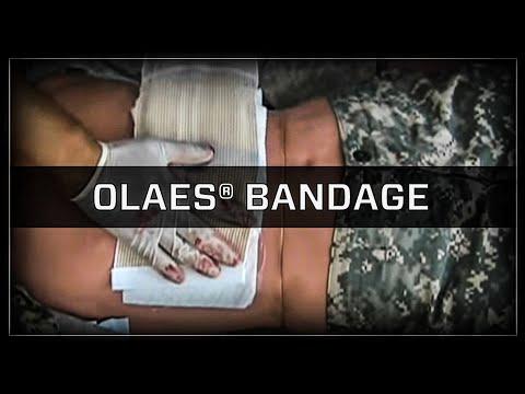 OLAES® Modular Trauma Bandage, Medical Dressing