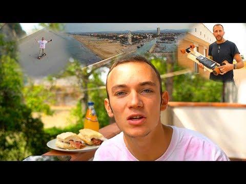 REVIEW KOOWHEELS ELECTRIC SKATEBOARD CON IL DRONE • MAVICPRO   VLOG_02