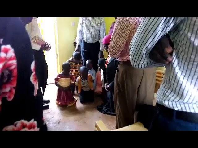 Praying for 4 Abandoned Children WFF Moi's Bridge Kenya 9-2-2018