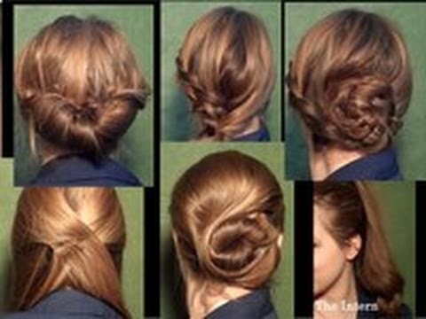 Six Quick Office Hairstyles YouTube