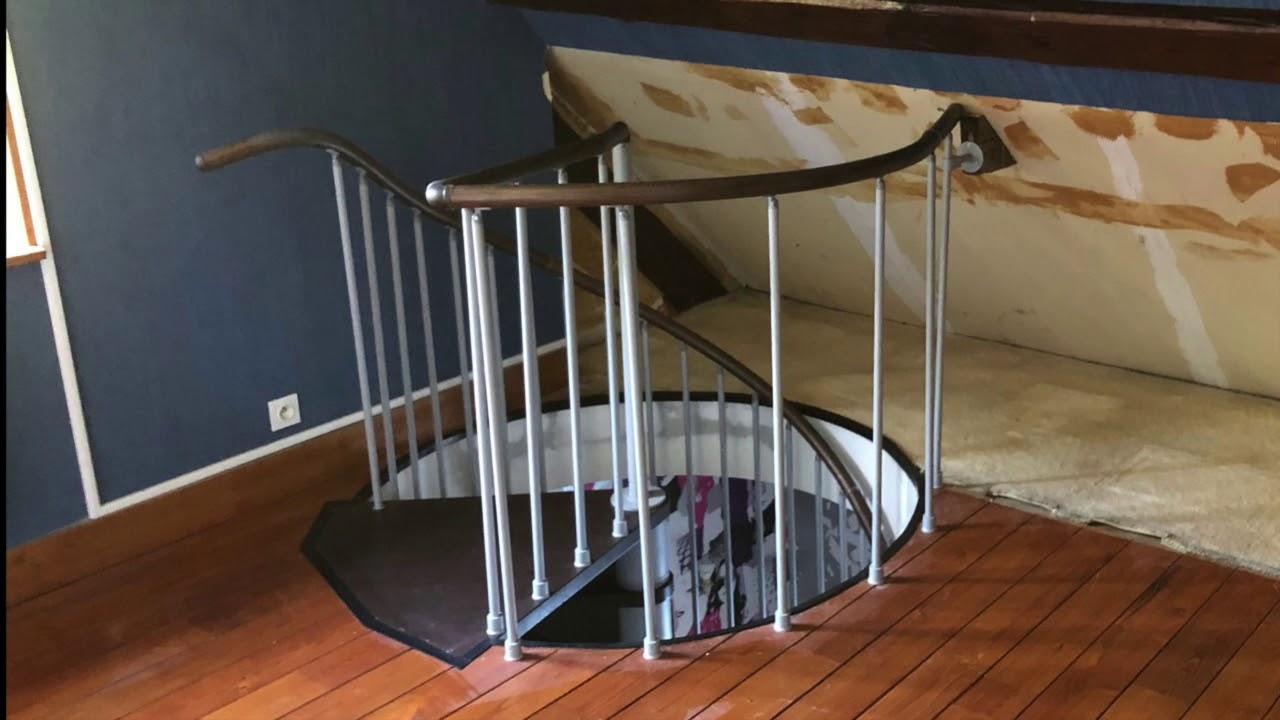 Creation D Une Tremie Escalier installation d'un escalier hélicoïdale avec création de