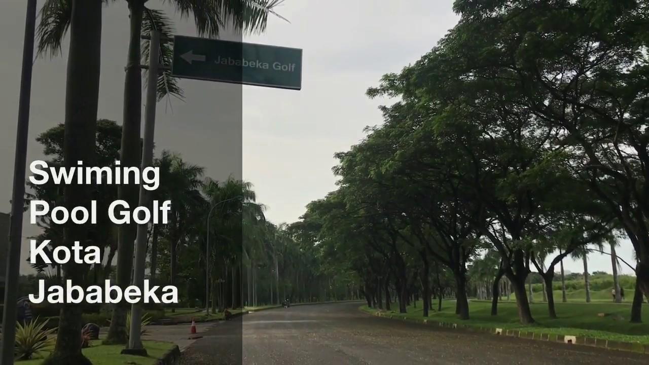 Kolam Renang Golf Kota Jababeka Cikarang Bekasi Kabupaten