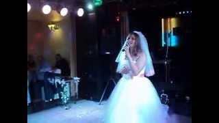 Песня в подарок мужу на свадьбе в моем исполнении)))