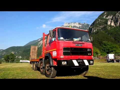 Vecchio Camion FIAT 180 Del Vecchio Barbuto Ciancana ... Lavora Tutto L'anno