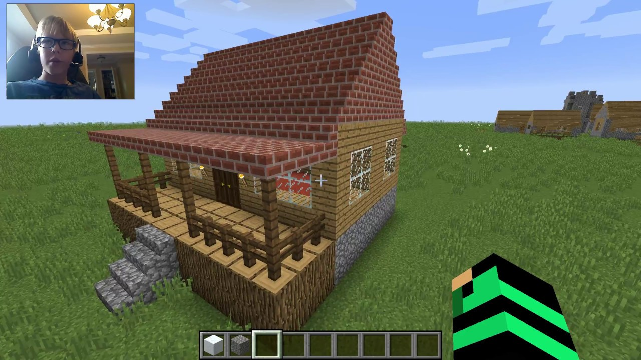 How To Decorate Your House For Christmas- Minecraft