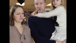 21. des - Familien Østby i FORUTs faddervervejulekalender