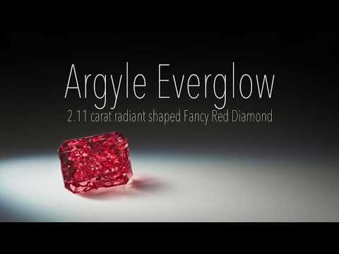 Argyle Everglow 2.11ct Red Diamond.