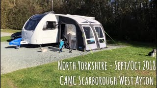 Caravan Chit Chat in North Yorkshire, Sept/Oct 2018