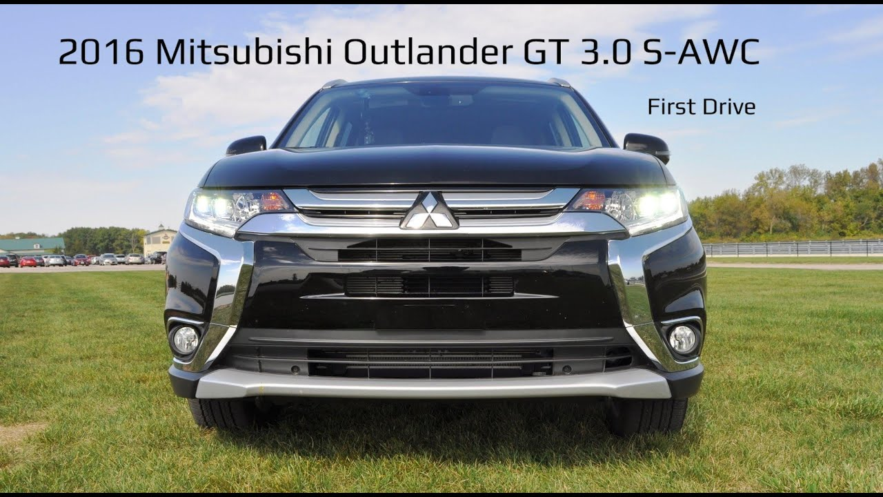 Hd First Drive Review 2016 Mitsubishi Outlander Gt 3 0 S Awc