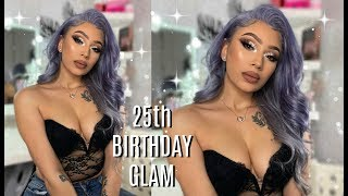 BIRTHDAY GLAM ✨   Get Ready With Me ft Beaufox