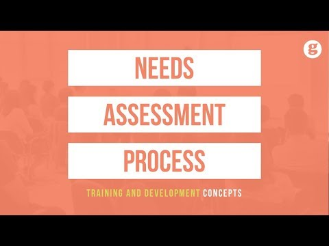 Needs Assessment Process