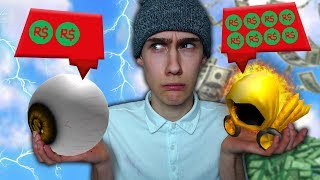 350 ROBUX ARTICLE VS 10.000.000 ROBUX ARTICLE! (Roblox)