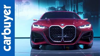 The BMW Concept 4: Frankfurt's most divisive grille! - Carbuyer