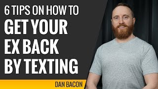 Want back How to you text an ex