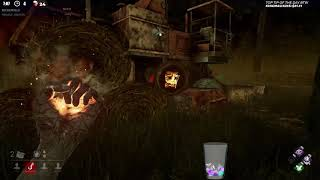 Dead by Daylight RANK 1 NURSE! - CANT SEE THIS LAD AT ALL!