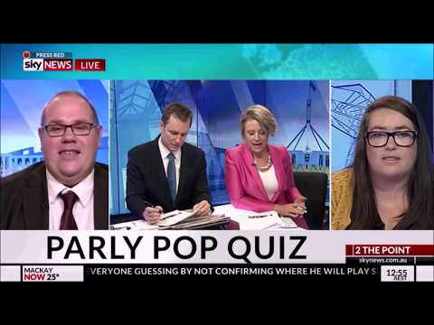 To The Point plays a Parliament Pop Quiz - Sky News