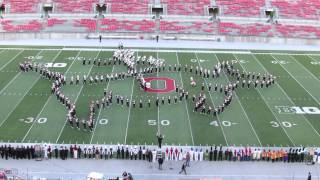 Ohio State Marching Band Country AND Western Show at Buckeye Invitational Great Sound 10 12 2013