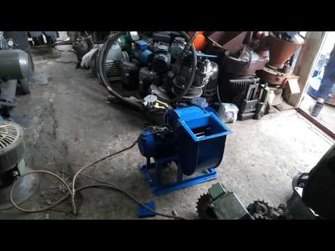 Вентилятор ВЦ 14-46 (ВР 287-46) #2,5 центробежный (в работе)