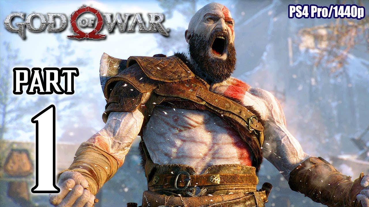 God Of War Walkthrough Part 1 Ps4 Pro No Commentary Gameplay 1440p