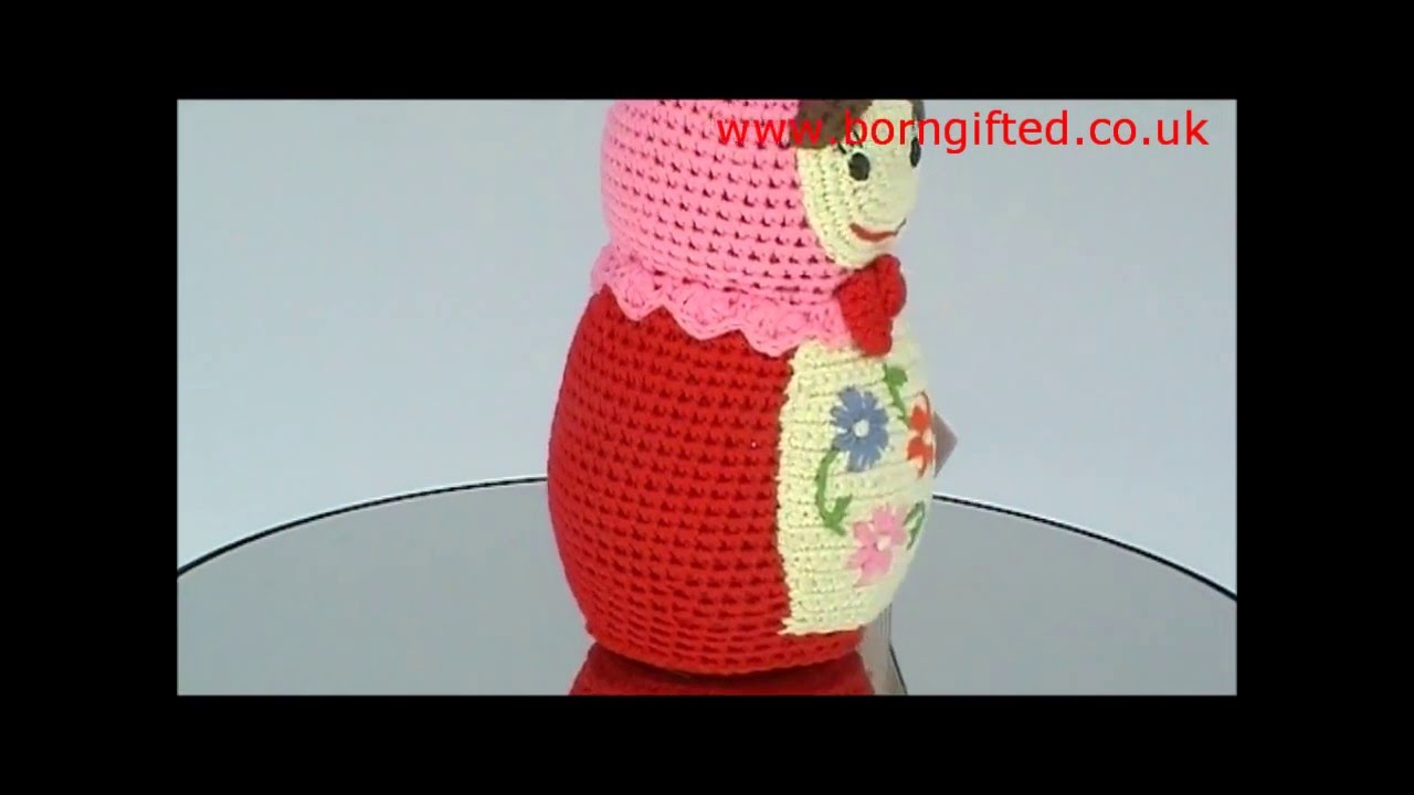 Crochet Russian Doll by Anne-Claire Petit - YouTube