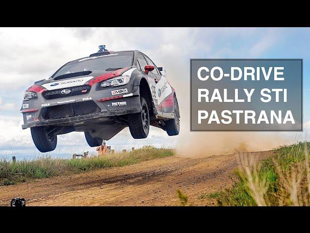 How To (Not) Co-Drive A Rally Subaru STI With Travis Pastrana