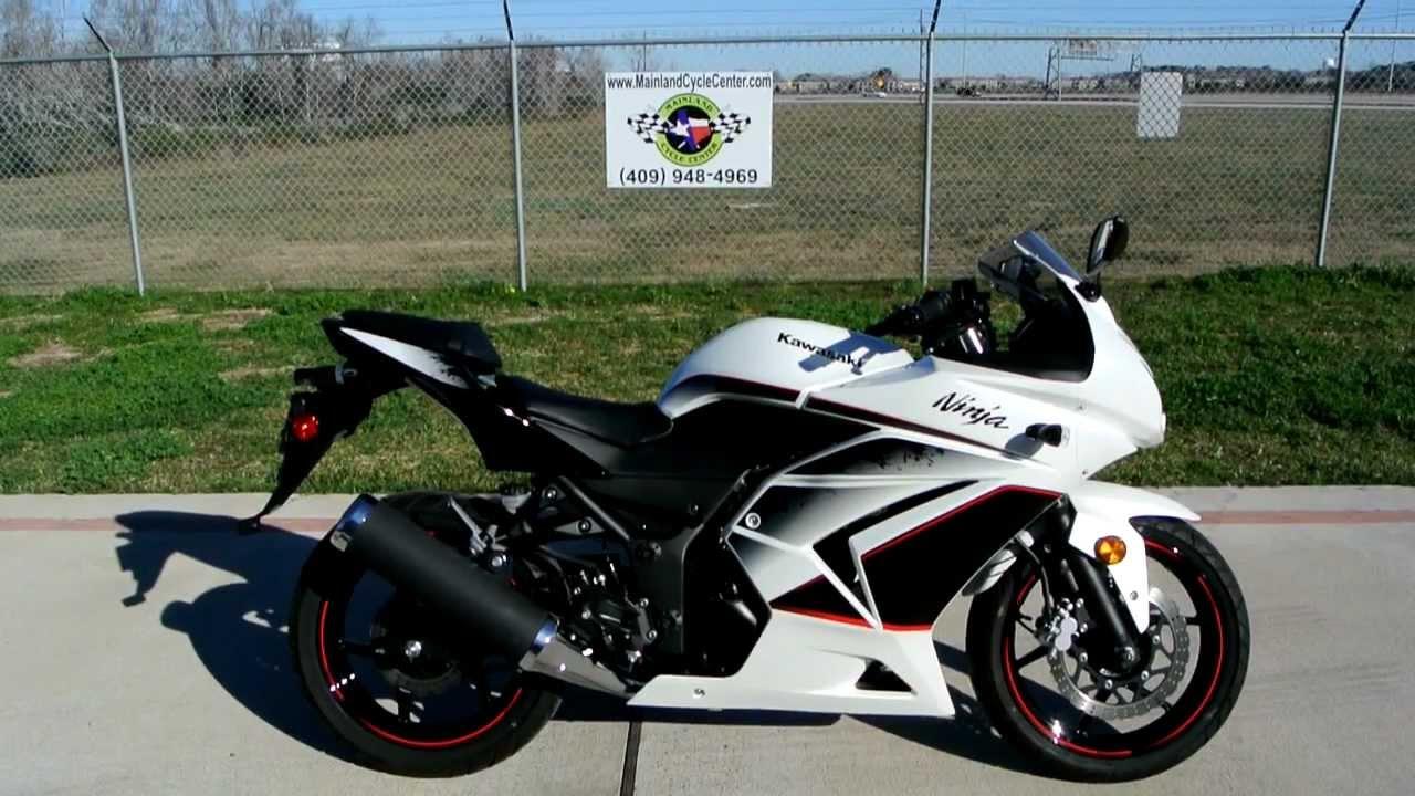 2011 Kawasaki Ninja 250R Pearl White Special Edition - YouTube
