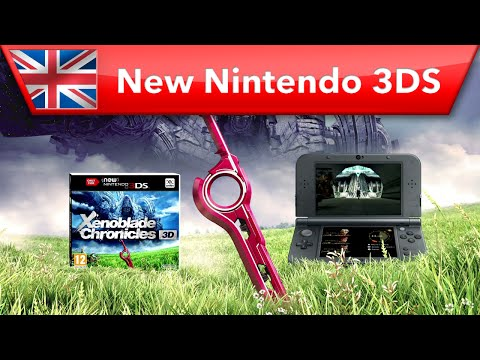 Xenoblade Chronicles 3D - Launch Trailer (New Nintendo 3DS)