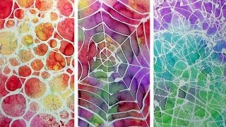 How To Make Stencils With Hot Glue