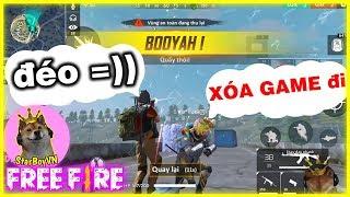 """vuclip (Free Fire GNN) Giả Bot gặp phải bé lớp 7 """"bắt xóa game"""" vì... 😂  StarBoyVN"""