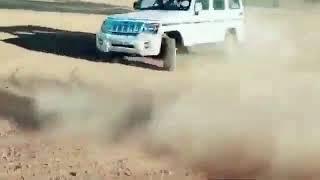 Scorpio endeavour fortuner thar bolero stunt video //drift.....................