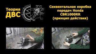 Теория ДВС: Секвентальная коробка передач Honda CBR1000RR (принцип действия)(Обсудить видео и задать вопросы можно тут: http://forum.teoria-dvs.com/index.php?showtopic=2110., 2015-01-08T22:50:56.000Z)