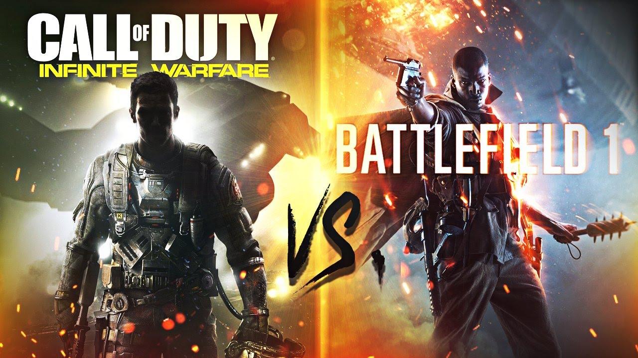 Resultado de imagen para COD vs Battlefield
