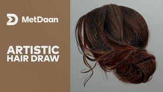 Artistic Hair Draw | MET DAAN