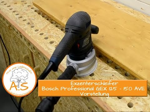 Видео обзор: Шлифмашина эксцентриковая BOSCH GEX 125-150 AVE (L-BOXX)
