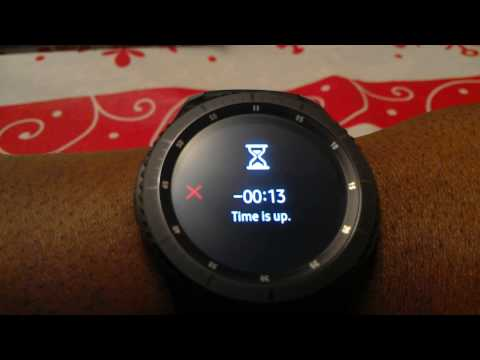 Samsung Gear S3 Frontier Day 12 Review - Battery Life, Timer, Calendar, S Health Running & More