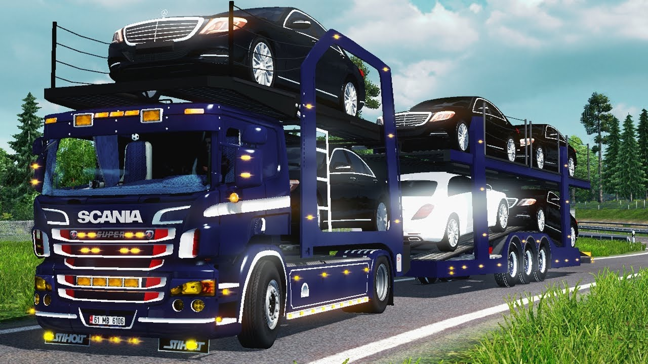 Best Car Transportation : Car transport euro truck best android gameplay hd youtube