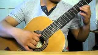 love is blue guitar classic cover