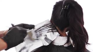 Brunette Caramel Highlights - Easy Hair Color Tutorial