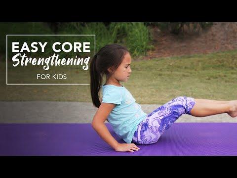 Easy Core Strengthening Exercises for Kids