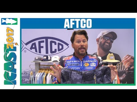 AFTCO Bass Fishing Shorts With Scott Martin | ICAST 2017