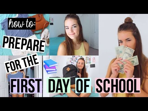How To: Prepare for the First Day of School! | Reese Regan