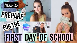 How To: Prepare for the First Day of School! | Reese Regan thumbnail