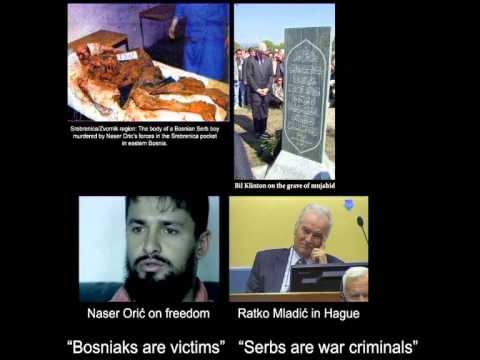 The Srebrenica Massacre was a Gigantic Political Fraud  Dr Edward Herman