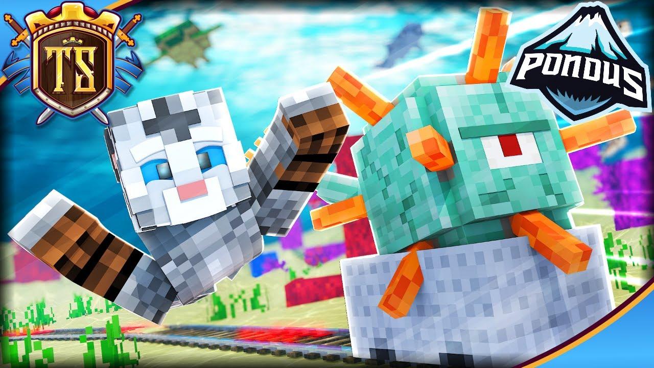 *NY METODE* TIL AT FLYTTE GUARDIANS UNDER VAND! *Pondus SMP* | Dansk Minecraft med TortenSkjold