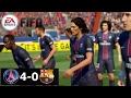 FIFA Remake PSG Vs Barcelona 4 0 Di Maria Cavani Draxler Goals UCL R16 Leg 1 mp3