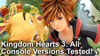 [4K] Kingdom Hearts 3 Plays Best At 60fps - But Which Console Gets Closest?