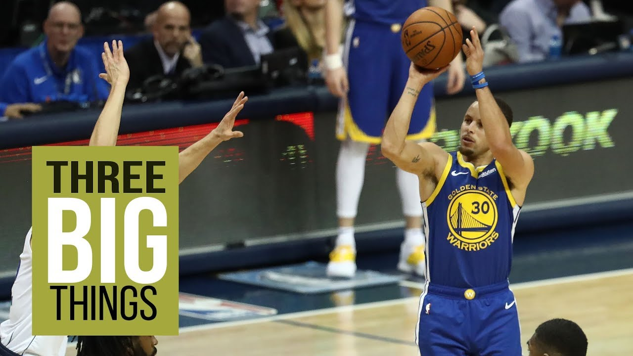 THREE BIG THINGS: Warriors' Stephen Curry puts up MVP level performance versus Mavericks