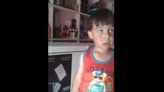 تحشيش عراقي طفل عراقي يخرب ضحك يصيح على ابو المحل